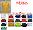 Polo Shirt Waiter 17 Warna